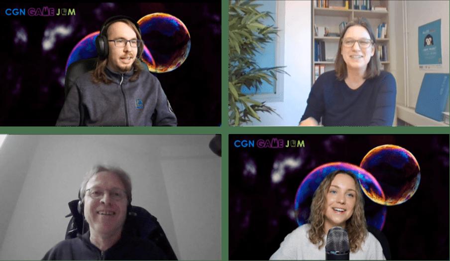 Impressionen der Auftaktveranstaltung des CGN Game Jams